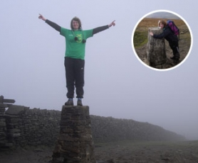Becky's charity Three Peaks of Yorkshire Walk