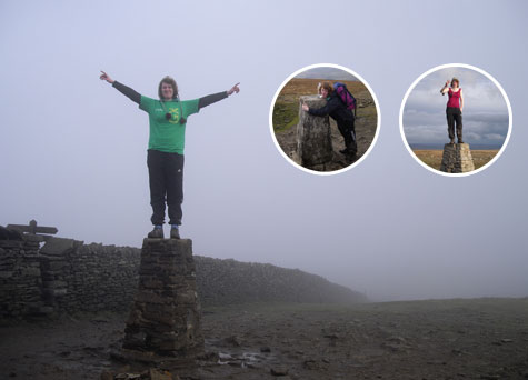 Becky's charity Three Peaks of Yorkshire Walk