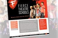 Branding and website for drama school organisation