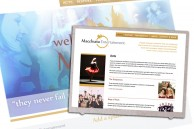Website design for entertainment manager and promoter