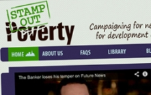 Website design for campaign charity