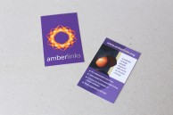 Creation of identity and website for Charity Amberlinks