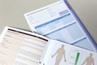 Multi-page medical form for NHS trust