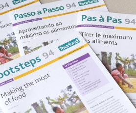 Magazine available in English, French, Spanish and Portuguese