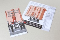 Campaign leaflets for the G8 summit