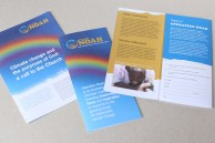 Leaflets for a Christian charity providing responses to the threat of climate change