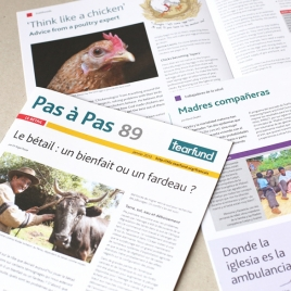 Designed for translation into French, Spanish and Portuguese