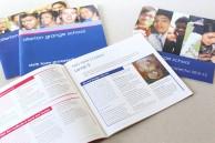 School and sixth form prospectus design