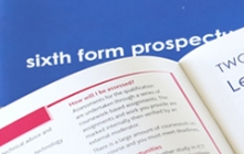 School and sixth form prospectus design