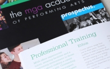 Prospectus for performing arts school