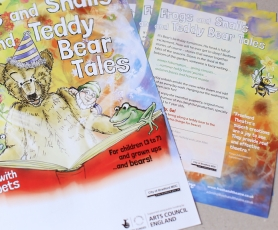 Illustration and publicity design for children's show