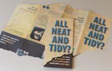 Die cut leaflet (late 90s)
